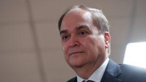 السفير الروسي لدى واشنطن أناتولي أنتونوف