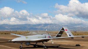 طائرة تركية بدون طيار